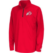 Colosseum Youth Utah Utes Crimson Draft Performance Quarter-Zip