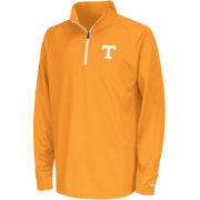 Colosseum Youth Tennessee Volunteers Tennessee Orange Draft Performance Quarter-Zip