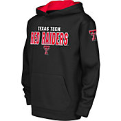 Colosseum Youth Texas Tech Red Raiders Black Fleece Hoodie