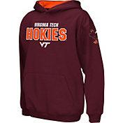 Colosseum Boys' Virginia Tech Hokies Maroon Pullover Hoodie