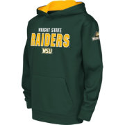 Colosseum Youth Wright State Raiders Green Fleece Hoodie
