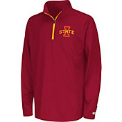 Colosseum Youth Iowa State Cyclones Cardinal Draft Performance Quarter-Zip