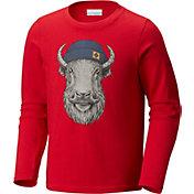 Columbia Boys' Winter Buddy Long Sleeve T-Shirt