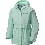 Columbia Girls' Pardon My Trench Rain Jacket
