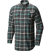 Columbia Men's PFG Bonehead Flannel Long Sleeve Shirt
