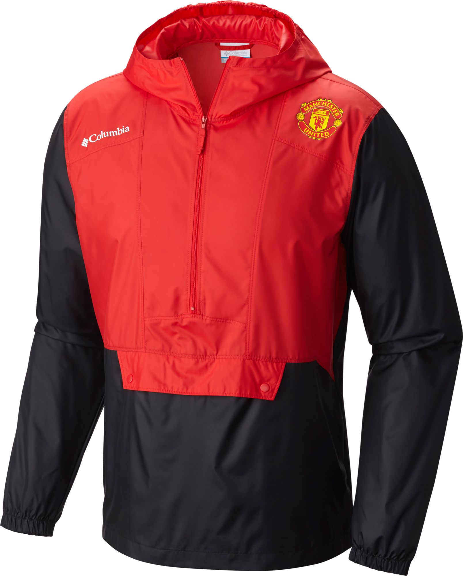 Columbia Men's Manchester United Flashback Windbreaker Red ...