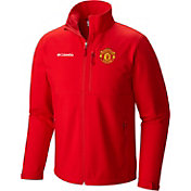 Columbia Men's Manchester United Ascender Softshell Red Jacket