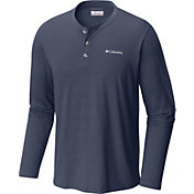 Columbia Men's Cullman Crest Henley Long Sleeve Shirt