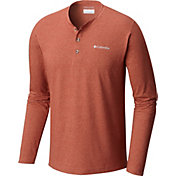 Columbia Men's Cullman Crest Henley Long Sleeve Shirt