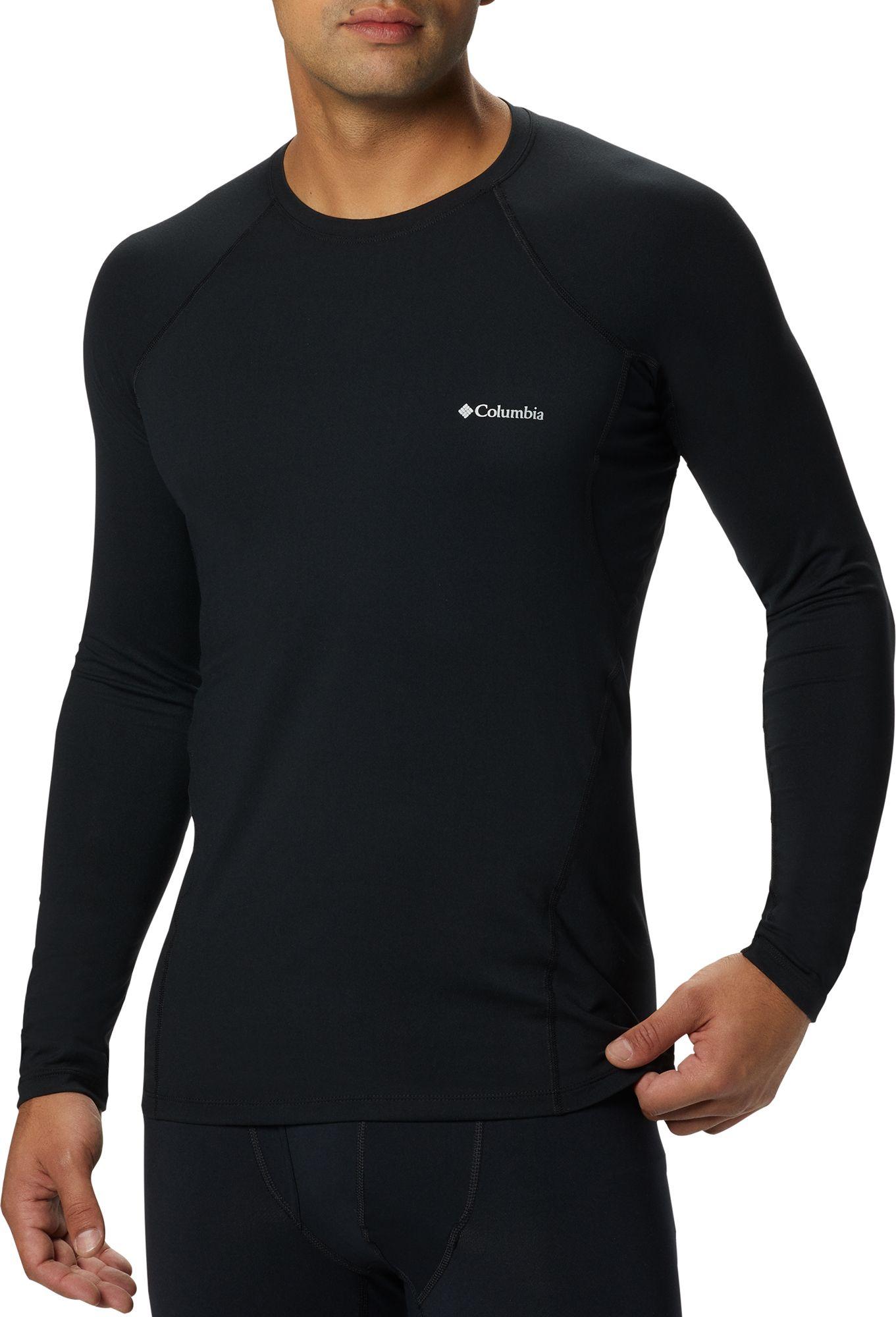 Columbia Men's Midweight Stretch Base Layer Long Sleeve Shirt. 0:00. 0:00 /  0:00. noImageFound ???