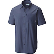 Columbia Men's Global Adventure IV Solid Short Sleeve Shirt