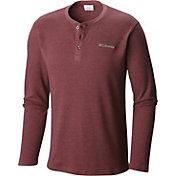 Columbia Men's Ketring Waffle Henley Long Sleeve Shirt