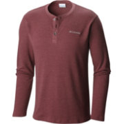 Columbia Men's Ketring Waffle Henley Long Sleeve Shirt