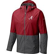 Columbia Men's Alabama Crimson Tide Crimson/Grey Roan Mountain Jacket