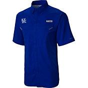 Columbia Men's Kentucky Wildcats Blue Low Drag Offshore Short Sleeve Shirt