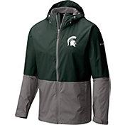 Columbia Men's Michigan State Spartans Green/Grey Roan Mountain Jacket