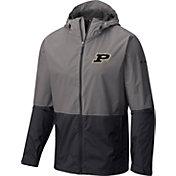 Columbia Men's Purdue Boilermakers Grey/Black Roan Mountain Jacket
