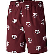 Columbia Men's Texas A&M Aggies Maroon Backcast II Printed Performance Shorts