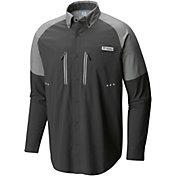 Columbia Men's PFG Solar Shade Zero Woven Long Sleeve Shirt
