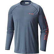 Columbia Men's PFG Terminal Tackle Heather Long Sleeve Shirt