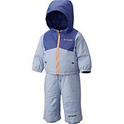 Columbia Toddler Double Flake Jacket and Bib Set