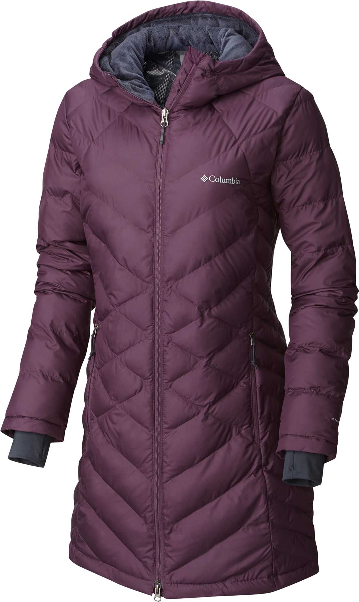 Columbia Women's Heavenly Long Hooded Down Jacket | DICK'S ...