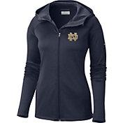 Columbia Women's Notre Dame Fighting Irish Navy Saturday Trail Hooded Jacket