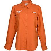 Columbia Women's Texas Longhorns Burnt Orange Tamiami Long Sleeve Shirt