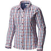 Columbia Women's Silver Ridge Plaid Long Sleeve Shirt