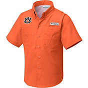 Columbia Youth Auburn Tigers Orange Tamiami Shirt