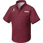 Columbia Youth Florida State Seminoles Garnet Tamiami Shirt