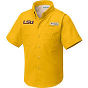 Columbia Youth LSU Tigers Gold Tamiami Shirt