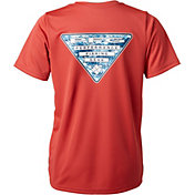 Columbia Boys' PFG Triangle Digicamo T-Shirt