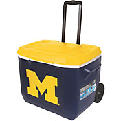 Coleman Michigan Wolverines 60qt. Roll Cooler