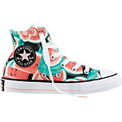 Converse Kids' Grade School Chuck Taylor All Star Watermelon High-Top Casual Shoes