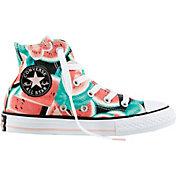 Converse Kids' Preschool Chuck Taylor All Star Watermelon High-Top Casual Shoes