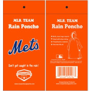Coopersburg Sports New York Mets Poncho
