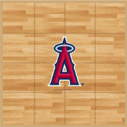 Coopersburg Sports Los Angeles Angels Fan Floor