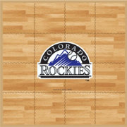 Coopersburg Sports Colorado Rockies Fan Floor