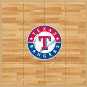 Coopersburg Sports Texas Rangers Fan Floor