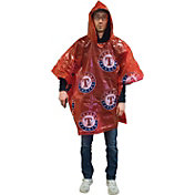 Coopersburg Sports Texas Rangers Red Poncho