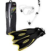 Cressi Pro Frameless Snorkel Set