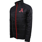 Campus Specialties Men's Alabama Crimson Tide Black Puffer Jacket