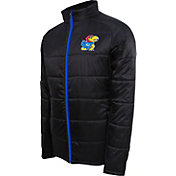 Campus Specialties Men's Kansas Jayhawks Black Puffer Jacket