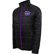Campus Specialties Men's Kansas State Wildcats Black Puffer Jacket
