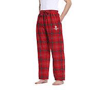 Concepts Sport Men's Houston Rockets Plaid Flannel Pajama Pants