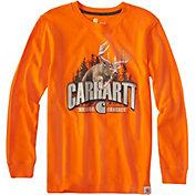 Carhartt Boys' Buck Long Sleeve Shirt