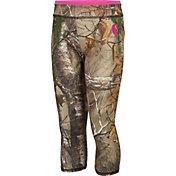 Carhartt Little Girls' Camo Capri Leggings