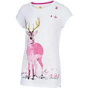 Carhartt Little Girls' Meadow Deer T-Shirt