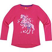 Carhartt Little Girls' Rise & Ride Horse Long Sleeve Shirt